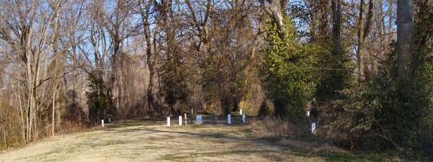 Left view of Rockport Pioneer Cemetery