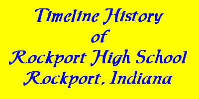 Timeline History of Rockport High School