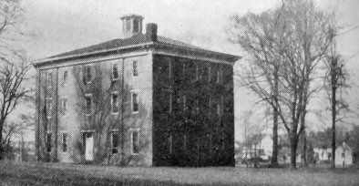 Rockport High School Rear View in 1917